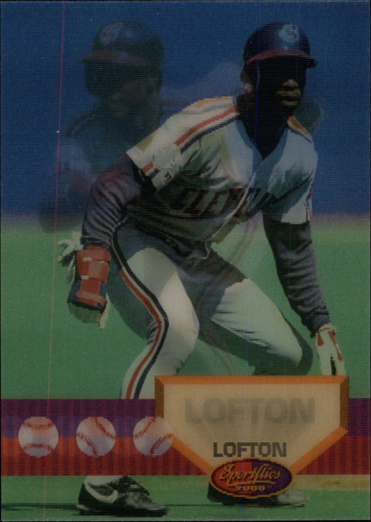 1994 Sportflics #43 Kenny Lofton