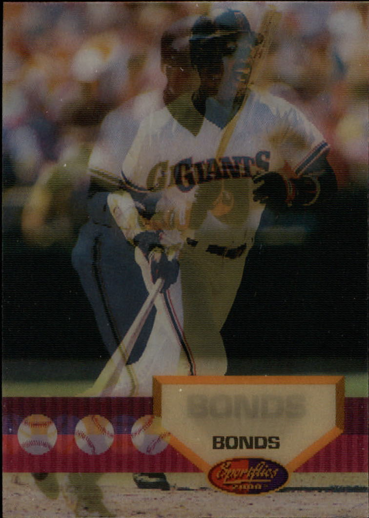 1994 Sportflics #91 Barry Bonds