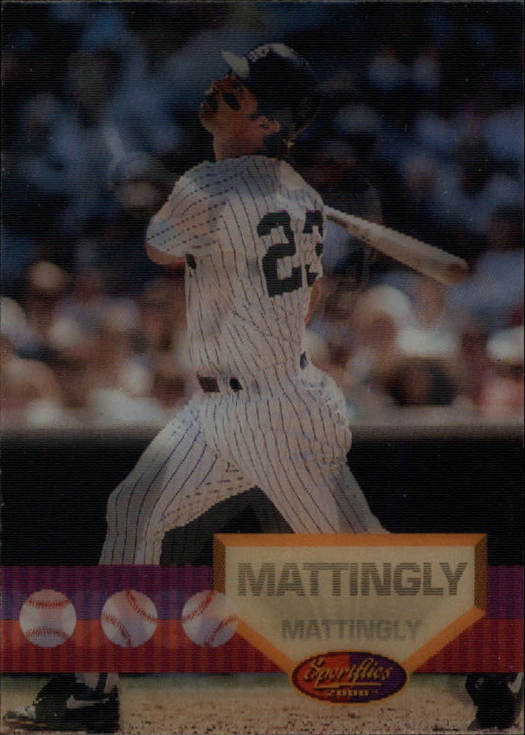 1994 Sportflics #127 Don Mattingly
