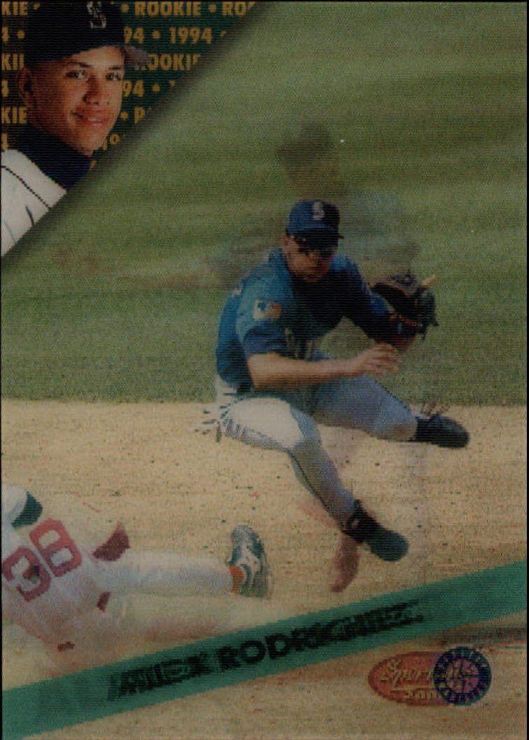 1994 Sportflics Rookie/Traded #148 Alex Rodriguez RC
