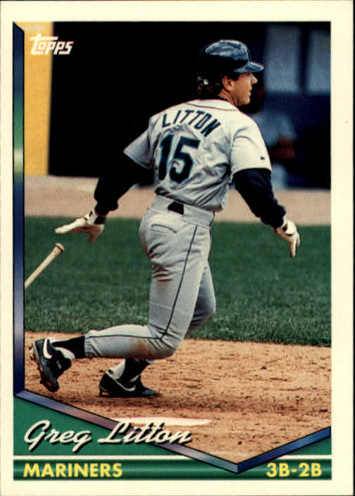 1994 Topps #111 Greg Litton