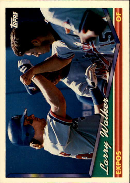 1994 Topps #230 Larry Walker