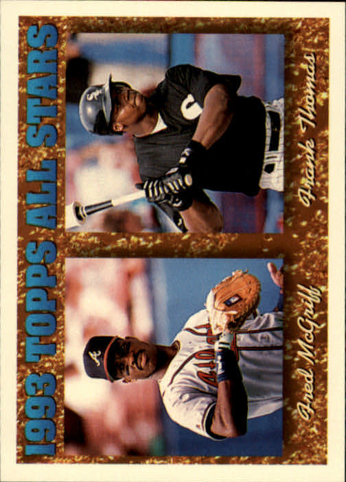 1994 Topps #384 F.Thomas/F.McGriff AS