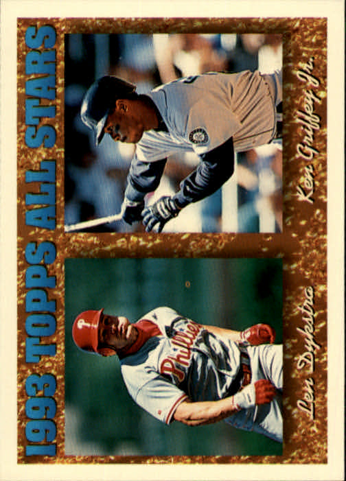 1994 Topps #388 K.Griffey/L.Dykstra AS
