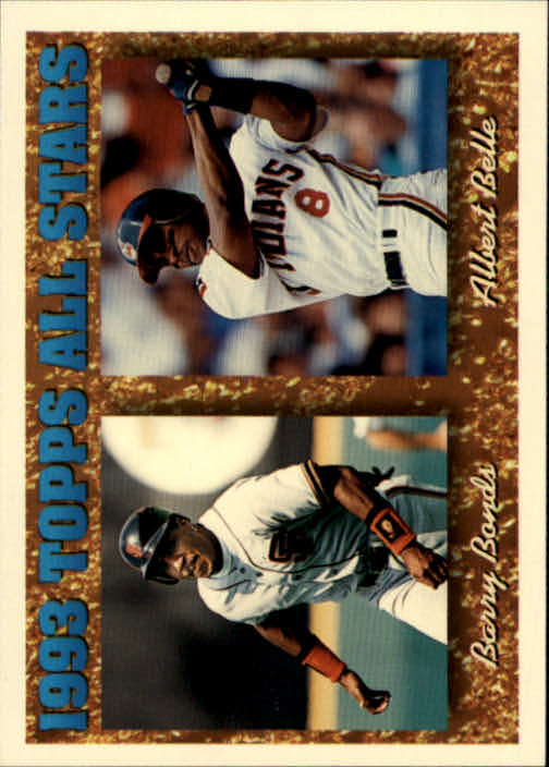 1994 Topps #390 A.Belle/B.Bonds AS