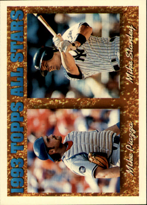 1994 Topps #391 M.Stanley/M.Piazza AS