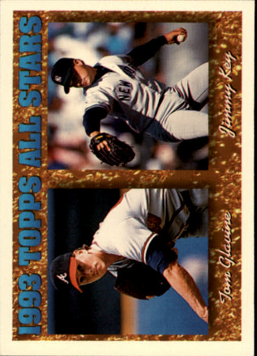 1994 Topps #393 J.Key/T.Glavine AS
