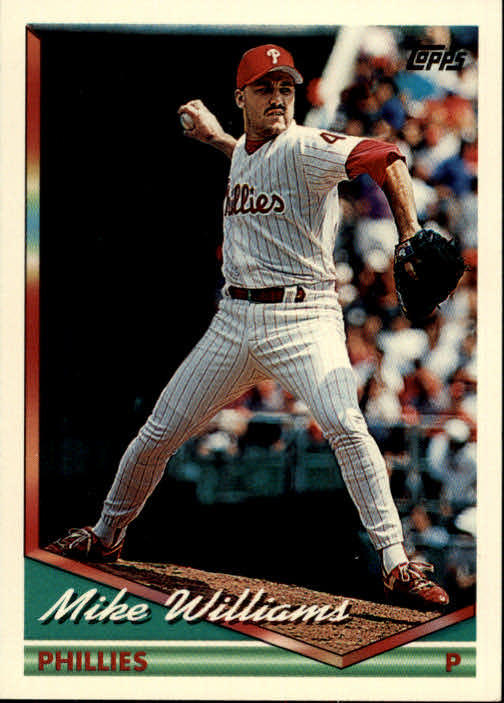1994 Topps #447 Mike Williams