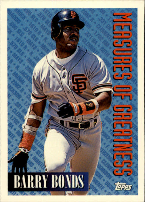 1994 Topps #605 Barry Bonds MOG