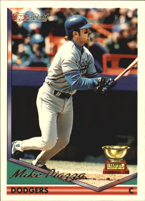 1994 Topps Gold #1 Mike Piazza