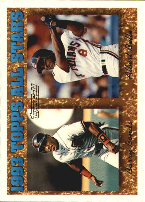 1994 Topps Gold #390 A.Belle/B.Bonds AS