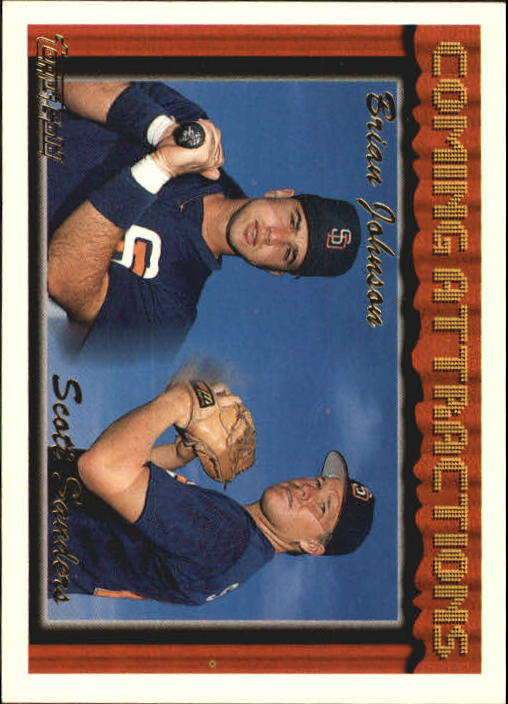1994 Topps Gold #789 Brian Johnson/Scott Sanders
