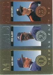 1994 Triple Play Medalists #4 Mark Grace/Fred McGriff/Jeff Bagwell