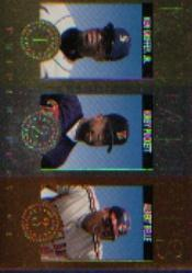1994 Triple Play Medalists #11 Ken Griffey Jr./Kirby Puckett/Albert Belle