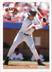 1994 Fleer Sunoco #5 Barry Bonds