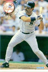 1994 Fleer Sunoco #17 Don Mattingly
