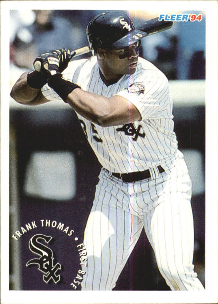 1994 Fleer Sunoco #23 Frank Thomas
