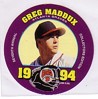 1994 King-B Discs #18 Greg Maddux