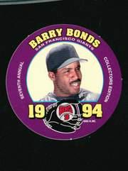 1994 King-B Discs #24 Barry Bonds