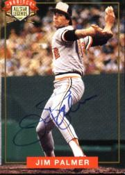 1994 Nabisco All-Star Autographs #2 Jim Palmer front image