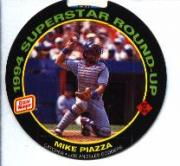 1994 Oscar Mayer Round-Ups #27 Mike Piazza