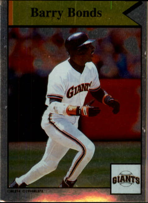 1994 Panini Stickers #13 Barry Bonds/Most Runs Batted In