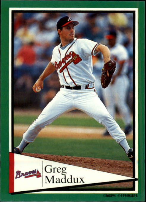 1994 Panini Stickers #147 Greg Maddux