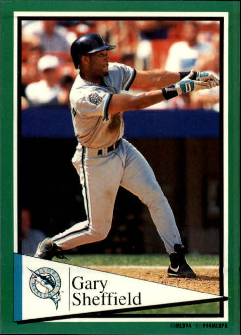 1994 Panini Stickers #186 Gary Sheffield