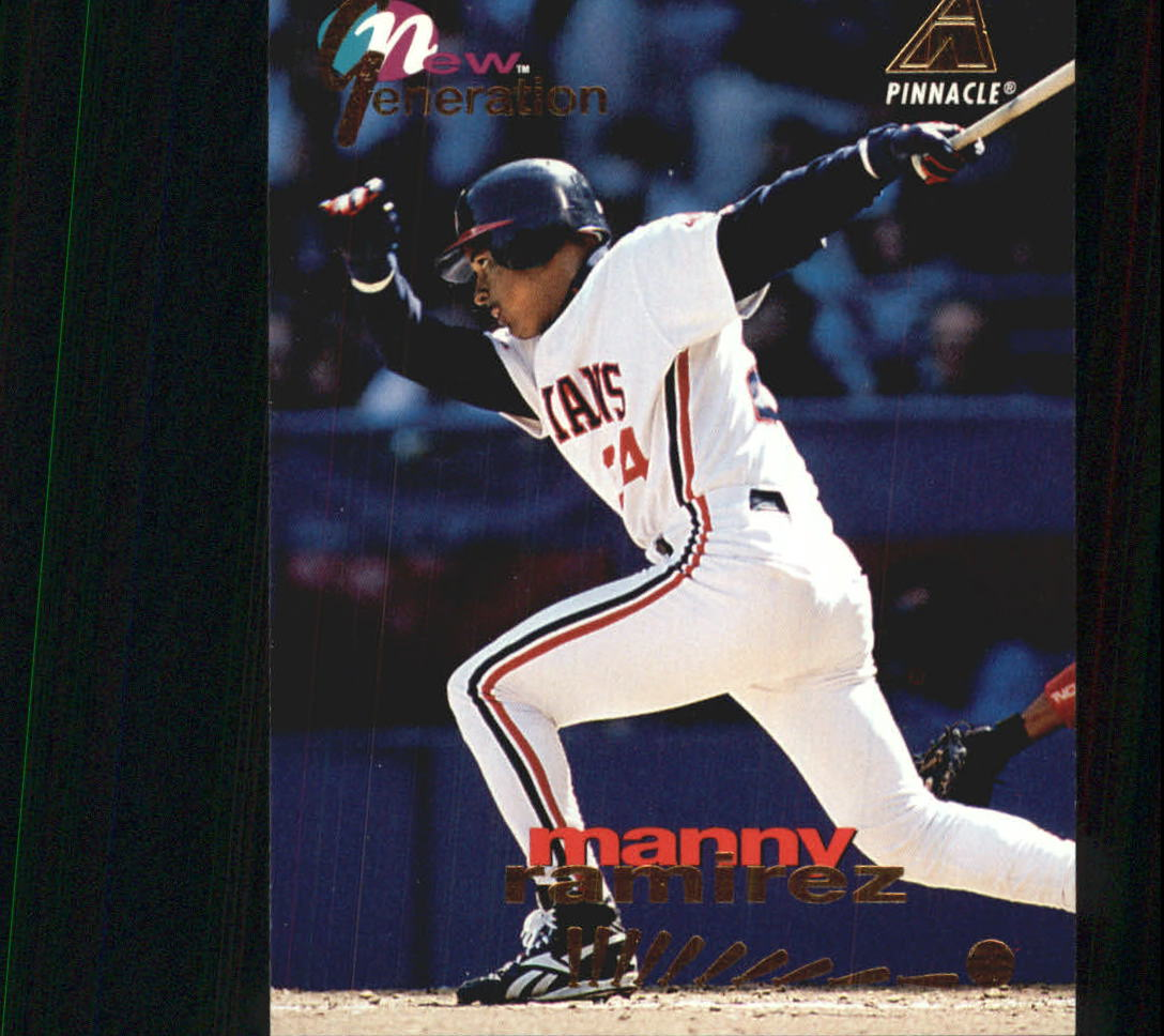 1994 Pinnacle New Generation #NG17 Manny Ramirez
