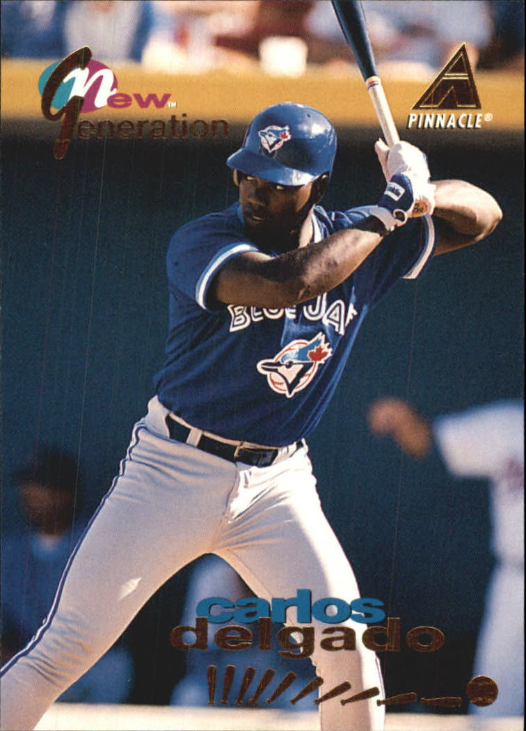 1994 Pinnacle New Generation #NG18 Carlos Delgado