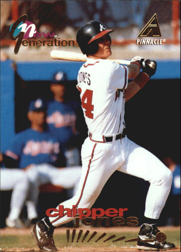 1994 Pinnacle New Generation #NG20 Chipper Jones