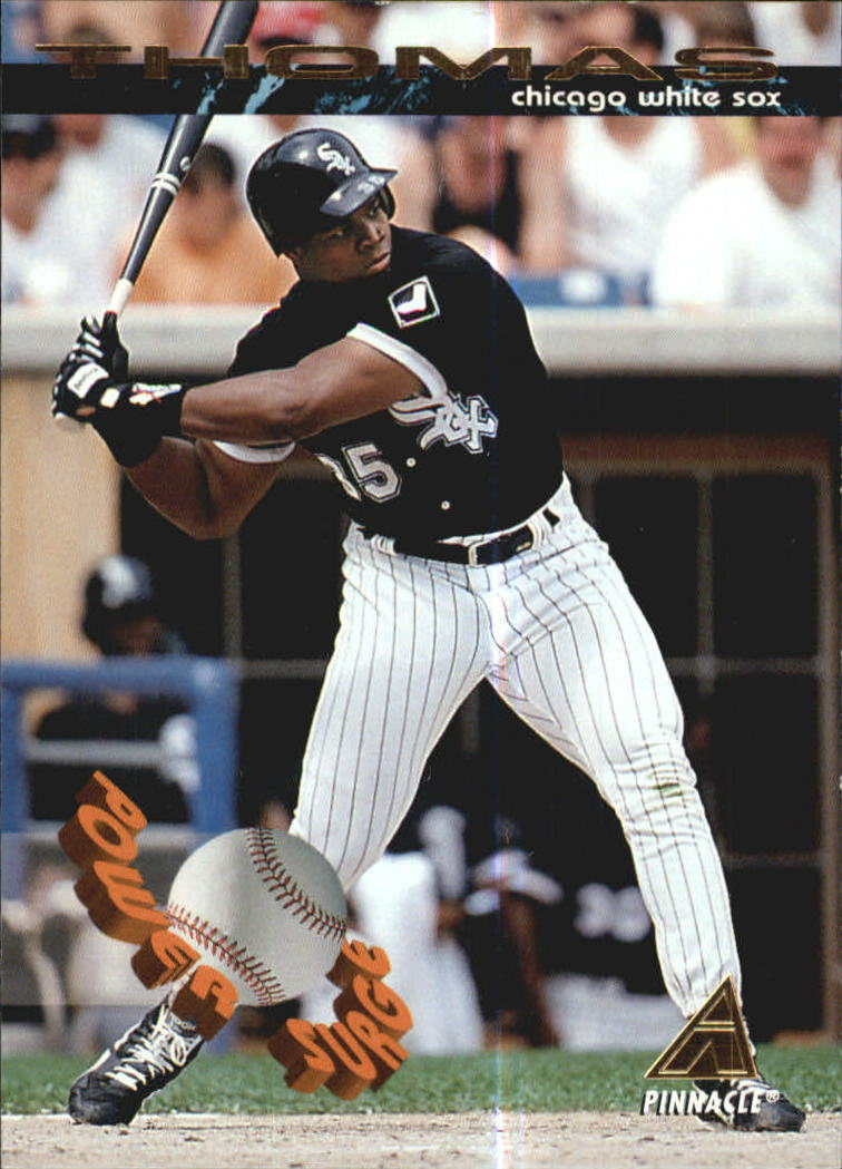 1994 Pinnacle Power Surge #PS6 Frank Thomas