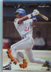 1994 Pinnacle Power Surge #PS7 Sammy Sosa