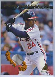 1994 Pinnacle Power Surge #PS13 Manny Ramirez