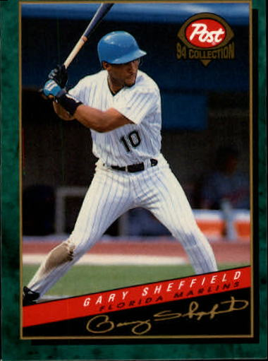1994 Post #5 Gary Sheffield