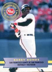 1994 Post Canadian #11 Barry Bonds