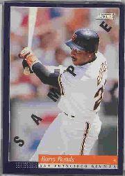 1994 Score Samples #1 Barry Bonds