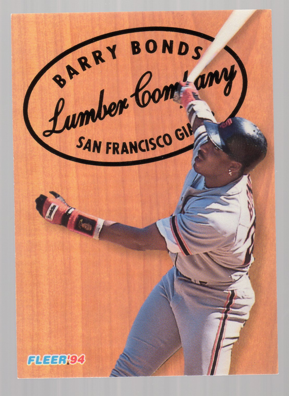 1994 Fleer Lumber Company #2 Barry Bonds