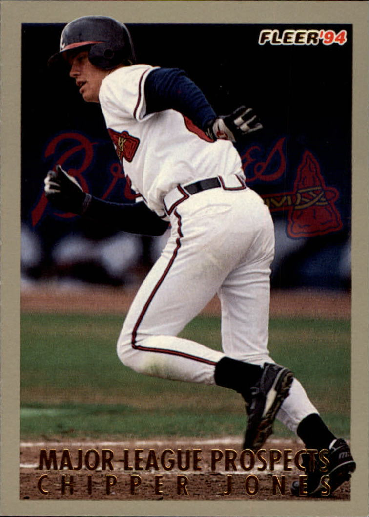 1994 Fleer Major League Prospects #18 Chipper Jones