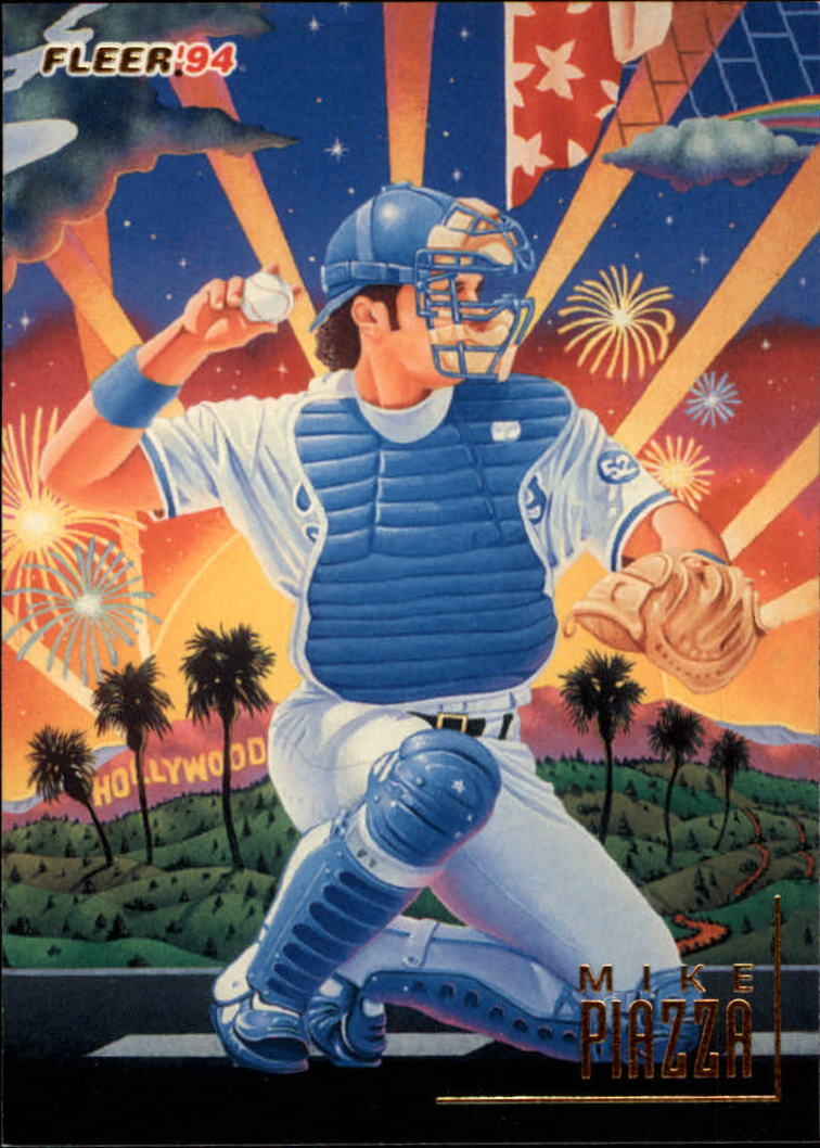 1994 Fleer Pro-Visions #8 Mike Piazza