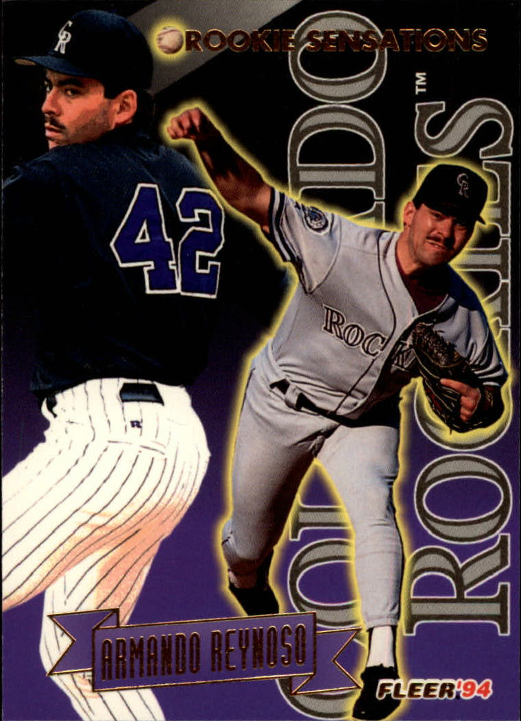1994 Fleer Rookie Sensations #15 Armando Reynoso