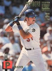 1994 Stadium Club Members Only 50 #28 Mike Piazza