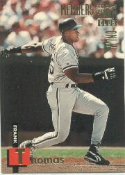 1994 Stadium Club Members Only 50 #29 Frank Thomas