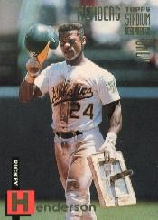 1994 Stadium Club Members Only 50 #38 Rickey Henderson