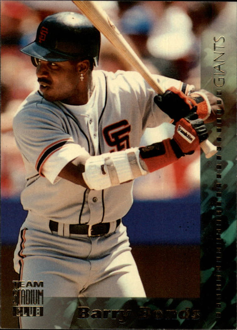 1994 Stadium Club Team #1 Barry Bonds