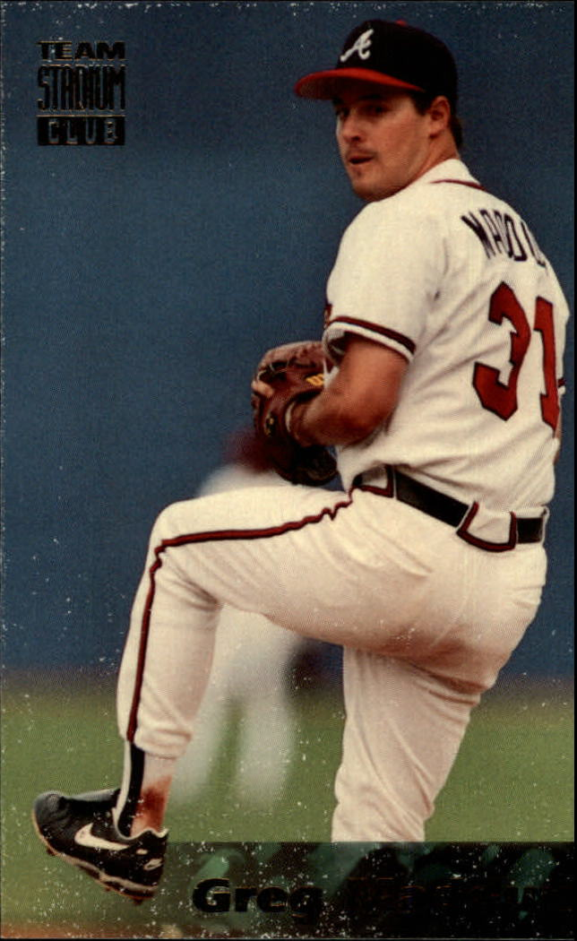 1994 Stadium Club Team #31 Greg Maddux