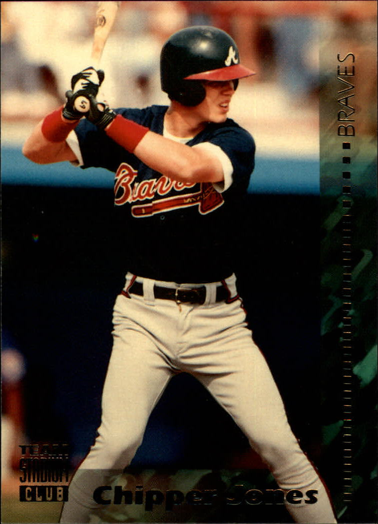 1994 Stadium Club Team #50 Chipper Jones