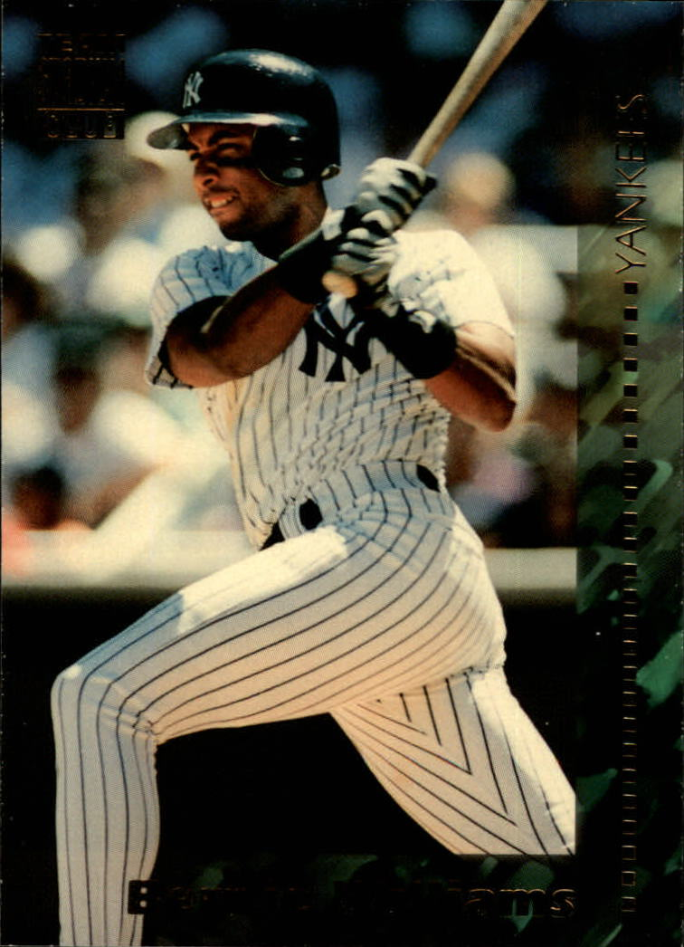 1994 Stadium Club Team #198 Bernie Williams