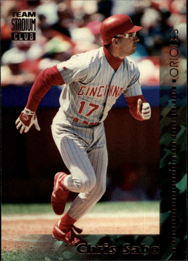 1994 Stadium Club Team #291 Chris Sabo