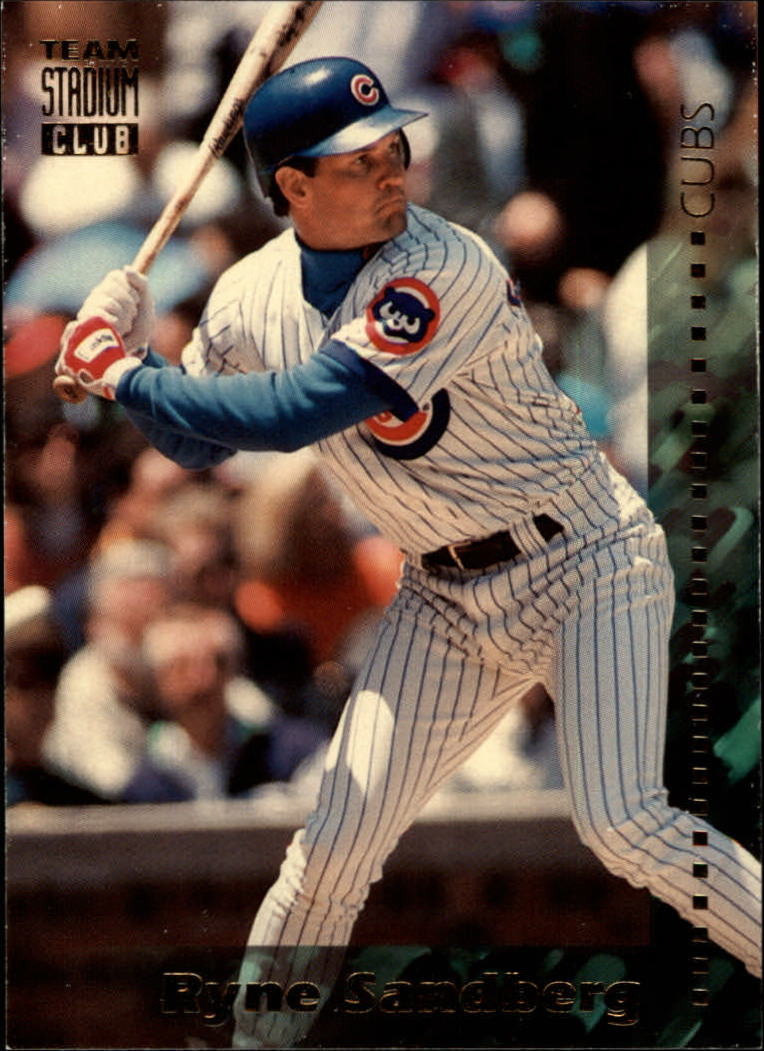 1994 Stadium Club Team #331 Ryne Sandberg